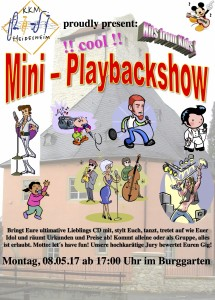 Plakat-Mini-Playback-Show